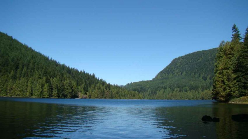 This lakeside wilderness setting only one hour east of Vancouver BC. - believe it!